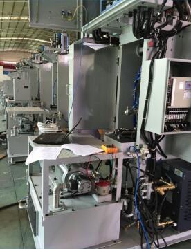 立式橡胶机伺服液压系统